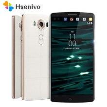 Lg V10の改装オリジナルロック解除lg V10 H900 4グラムアンドロイド電話ヘキサコア5.7 ''16.0MP 4ギガバイトram 64ギガバイトrom 2560*1440スマートフォン