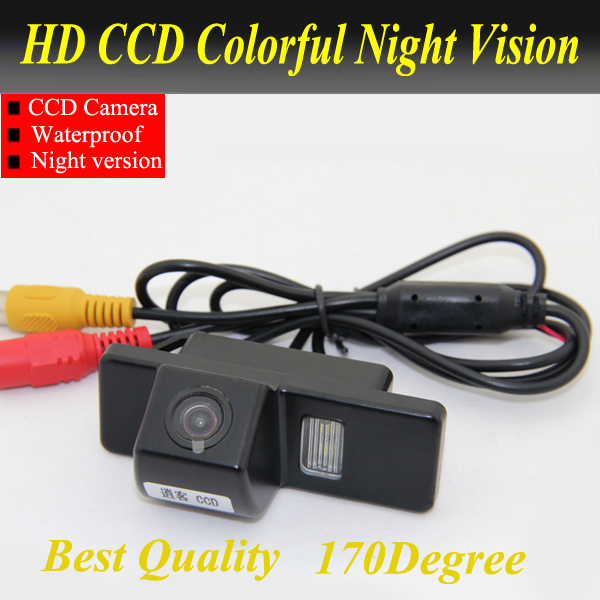 Free Shipping CCD Car Rear View camera for Nissan QASHQAI X Trail For Peugeot 307 Hatchback