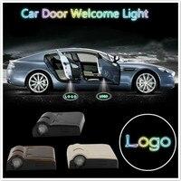 Wireless Car Door Logo Ghost Shadow Welcome Light Emblem Projector Logo Laset Light For Toyota VW