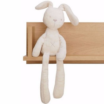 2018 Cute Rabbit Doll Baby Soft Plush Toys For Children Bunny Sleeping Mate Stuffed &Plush Animal Baby Toys For Infants 1