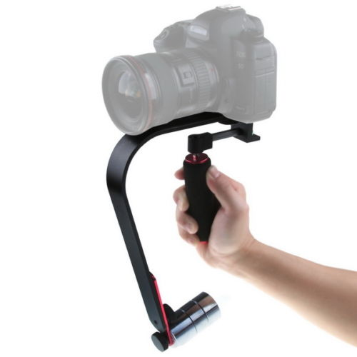 Cámara de mano profesional vídeo teléfono inteligente videocámara Steadycam estabilizador trípode-in Trípodes from Productos electrónicos    1