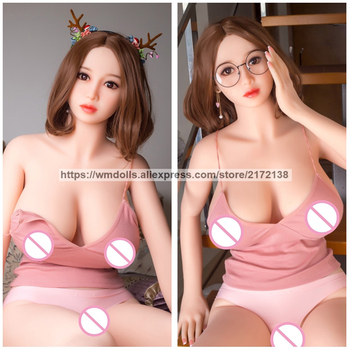 WMDOLL 161cm Real Sized Silicone Sex Dolls Anime Robot Love Doll Sex Toys For Men Plastic Pussy Artificial Vagina