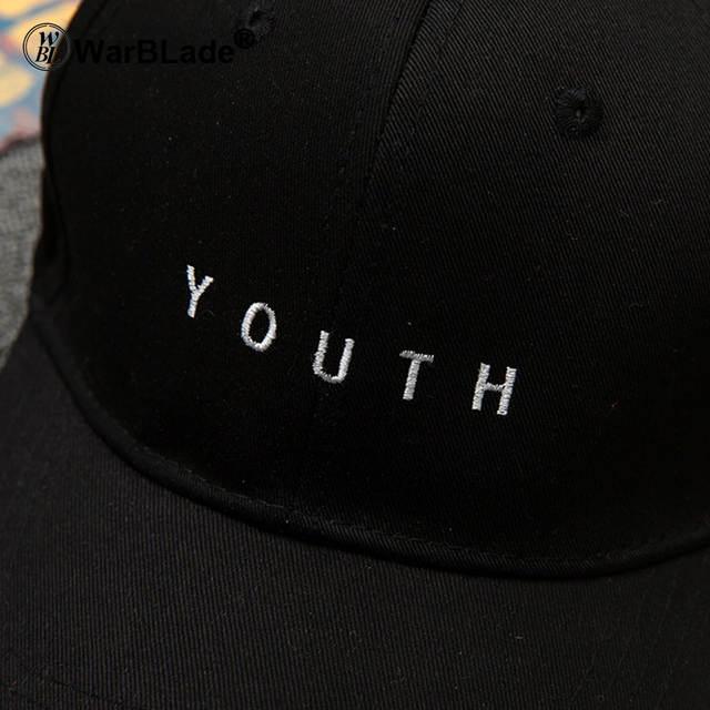 e87408a3839 Youth Letter Embroidered Caps Lover Men Women Baseball Cap Snapback Hat  Black White Sunhat Gorras Valentine s