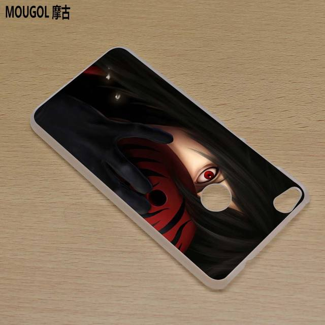 Naruto Sasuke Transparent Hard Phone Cover for Huawei Honor