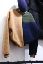 2016 Sale Polyester Microfiber Woolen Full New Winter Color Sleeve Head Hair Sweatershirt Fashion Ladies Ride Lamb Tide