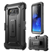 For Samsung Galaxy S8Active Case SUPCASE Unicorn Beetle UB Pro Full Body Rugged Holster Cover WITH Built in Screen Protector