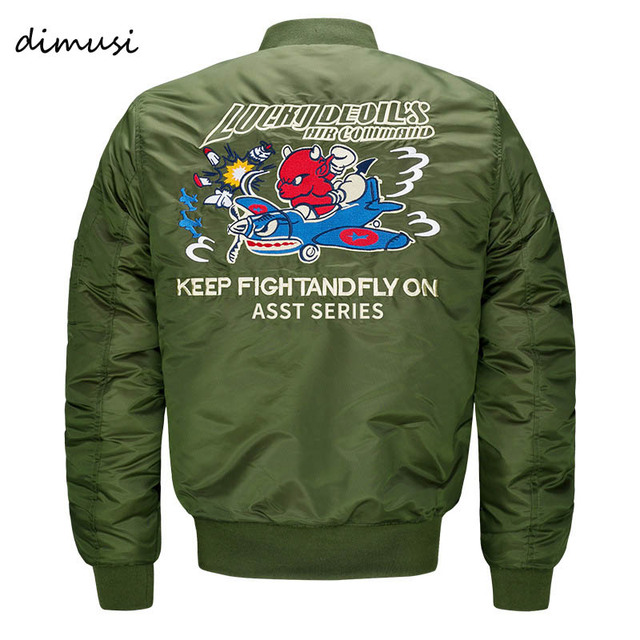 Aliexpress.com : Buy DIMUSI Bomber Jacket Men 2017 Ma 1 Army Green ...