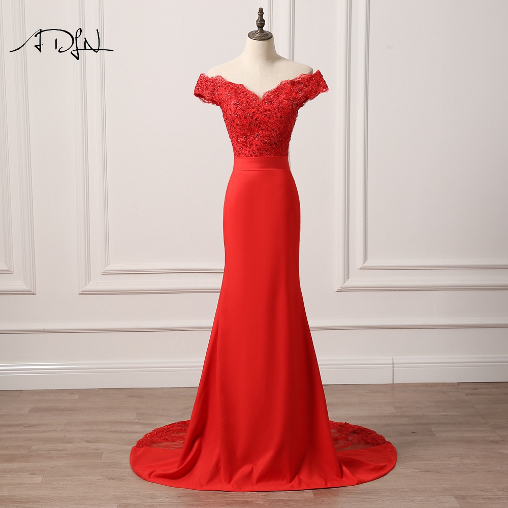 ADLN Robe De Soiree Русалка Лонг Вечірня сукня - Плаття для особливих випадків