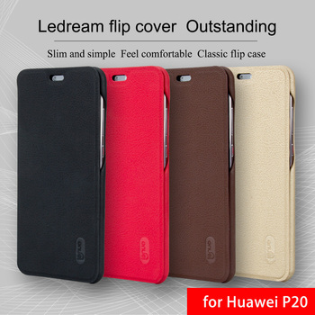Huawei P20 Case Original Lenuo Luxury Leather Flip Cover Stand Card Slot Vintage Case for Huawei P20 Pro Funda