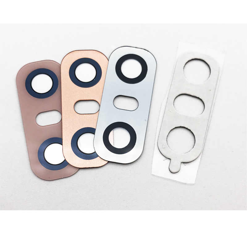 2 pçs/lote, voltar Câmera Traseira Lente de Vidro Para LG G5 G6 V20 Q6 Nexus 5X D820 D821 Câmera Tampa Da Lente Com Adesivo substituição