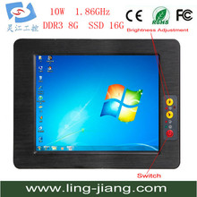 High Performence 5-wire, Analog Resistive Industrial Tablet PC With DDR3 PPC-170C