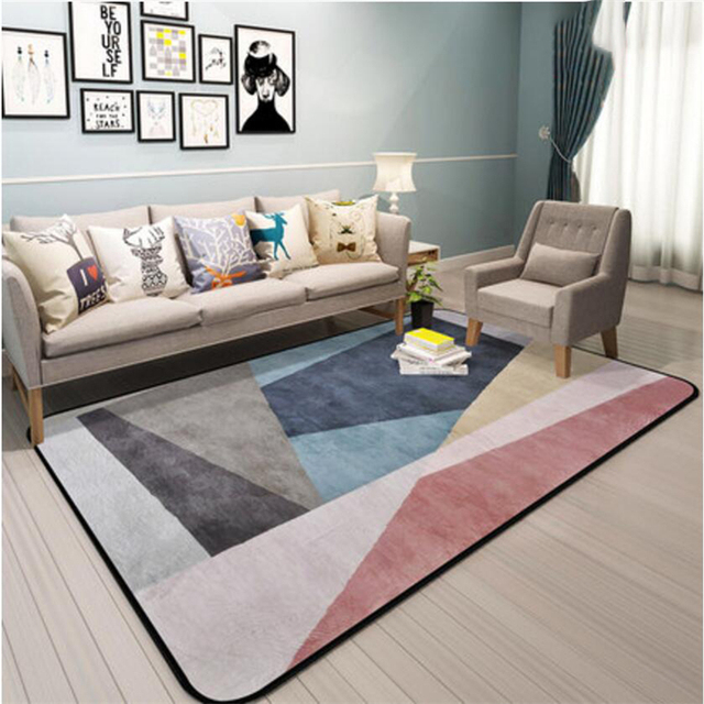 Hot Sale Nordic New Modern Style Design Carpets For Living Room