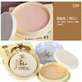 2016 New Hot women Makeup Face Press Powder Palette Contour Foundation Whitening Concealer Professional Cosmetics YLL451