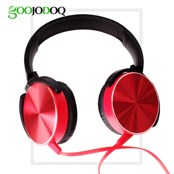 Headphones Earphones 3.5mm AUX Gaming Headset Foldable Portable Adjustable With Microphone Wire Control For Phone ipad xiaomi