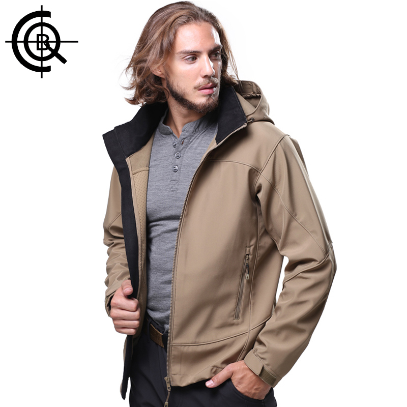 CQB Outdoor Hiking Jackets Climbing Hunting Clothes Men Jackets Tactical Winter Coat Waterproof Softshell Jackets LYF0093 lightweight tactical softshell jacket outdoor sports clothing camping climbing hiking jackets waterproof coat for men