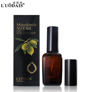 Image 2 - 50 Ml Haarverzorging Masker 100% Pure Marokkaanse Arganolie Hoofdhuid Behandeling Macadamia Notenolie Voor Droog En Beschadigd haar Voeding
