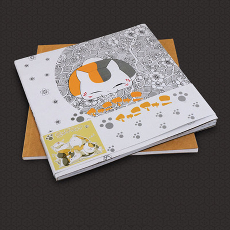 Natsume's Book Of Friends Coloring Book Secret Garden Style For Relieve Stress Kill Time Graffiti Painting Drawing Book