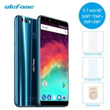 Дешевые Оригинальный Ulefone Mix 2 4 г LTE dual sim мобильный телефон 5.7 дюймов 18:9 Android 7.0 nougat 2 г + 16 г 4 ядра смартфон отпечатков пальцев