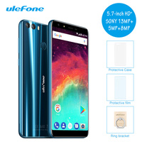 Origional Ulefone Mix 2 4G LTE Dual Sim Mobile Phone 5 7 Inch 18 9 Android