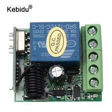 Kebidu DC 12V 1CHรีเลย์โมดูลเครื่องส่งสัญญาณRF 433Mhzไร้สายรีโมทคอนโทรลสวิตช์ขายส่ง