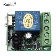 Kebidu DC 12V 1CH relais récepteur Module RF émetteur 433Mhz sans fil télécommande commutateur en gros