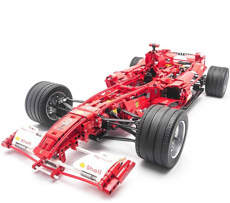 3335 Technique F1 Racer Blocs de Construction Brique Jouet Ensemble Garçon Jeu De Voiture Formule 1 Enfants Jouets Compatible avec 8674
