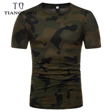 e75aae8d Pack of 2 Pieces Fashion New Summer Camouflage Mens T-shirt Outdoor Sport  Short Sleeve