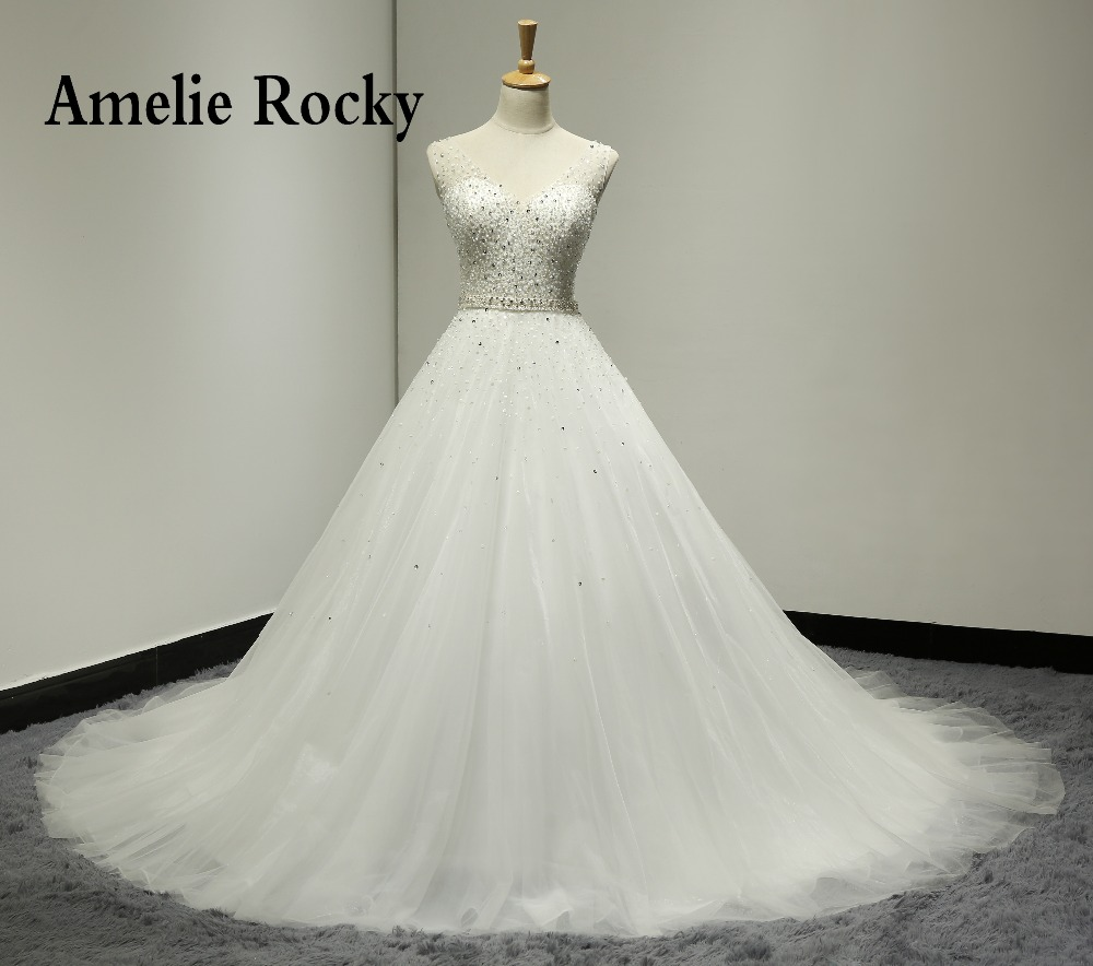 New Vintage Princess Ball Gown Wedding Dresses Beaded: Aliexpress.com : Buy Bridal Gown Ball Gown Princess