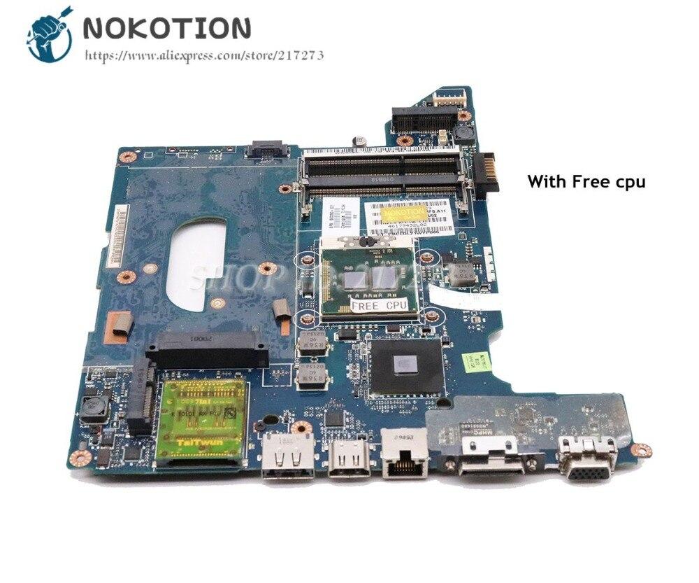 NOKOTION For HP Pavilion DV4 DV4-2000 Laptop Motherboard HM55 DDR3 Free cpu 590350-001 LA-4106PNOKOTION For HP Pavilion DV4 DV4-2000 Laptop Motherboard HM55 DDR3 Free cpu 590350-001 LA-4106P