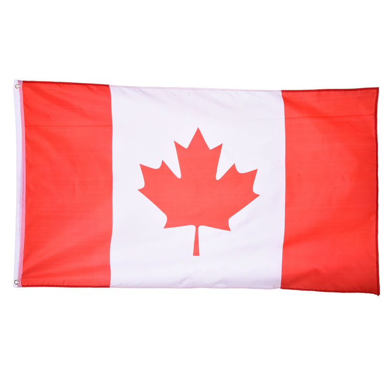 Bandera canadiense 90*150 cm para la Copa del mundo/actividad ...