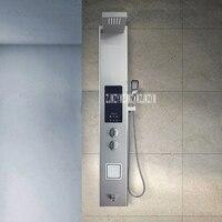 Comprar Panel de ducha termostático inteligente V2 Panel de ducha integrado juego de ducha de acero inoxidable