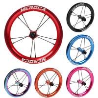 MEROCA Sliding Bicycle Wheelset 12inch K S Children Balance Bike Wheels Modification High Circle Rim 2 Bearing|Bicycle Wheel|   -