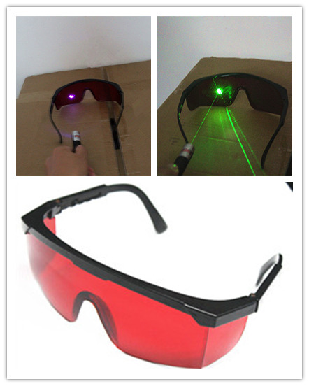 12pcs Ochelari de siguranță 532nm 405nm Ochelari de protecție cu laser Ochelari de protecție protejează laser verde / violet albastru 400nm-540nm