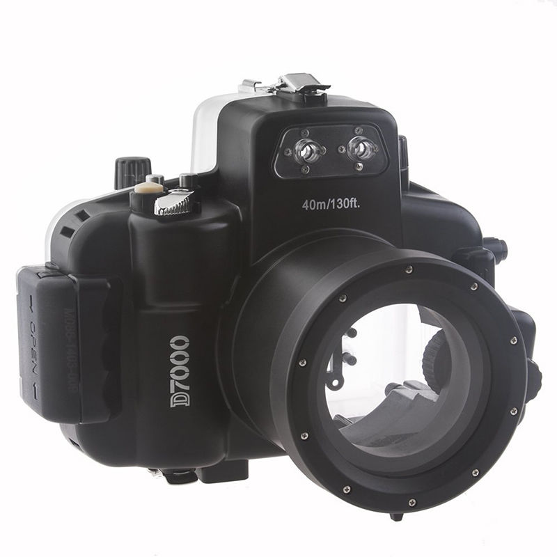 Waterproof Underwater Housing Camera bag Case protector for nikon d7000 18-55mm lens цены
