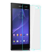 цена на Premium Tempered Glass For Sony Xperia C3 S55T S55U D2533 D2502 Dual Screen Protector 9H Protective Film Guard