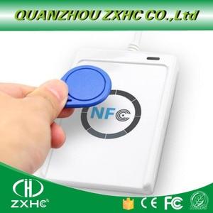 Image 3 - ACR122U USB NFC Card Reader Writer for ISO14443 Protocol S50 Ntag213 Ntag215 Ntag216