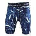 Mais novo da Aptidão Shorts Homens Shorts De Compressão Collants Bermuda Camuflagem Calças Curtas
