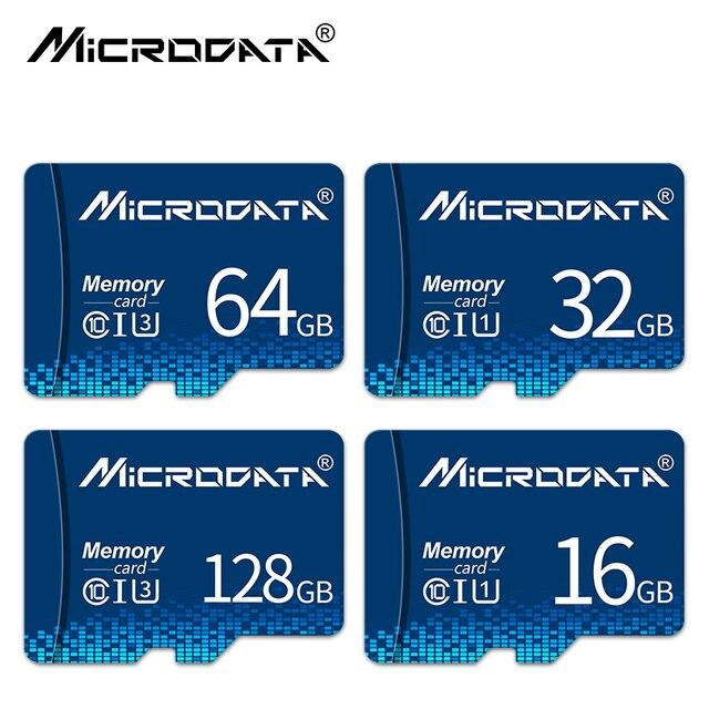 במהירות גבוהה מיקרו sd כרטיס 8GB 16GB 32GB 64GB 128GB Class 10 usb פלאש עט כונן זיכרון כרטיס Microsd SD כרטיס עבור Smartphone