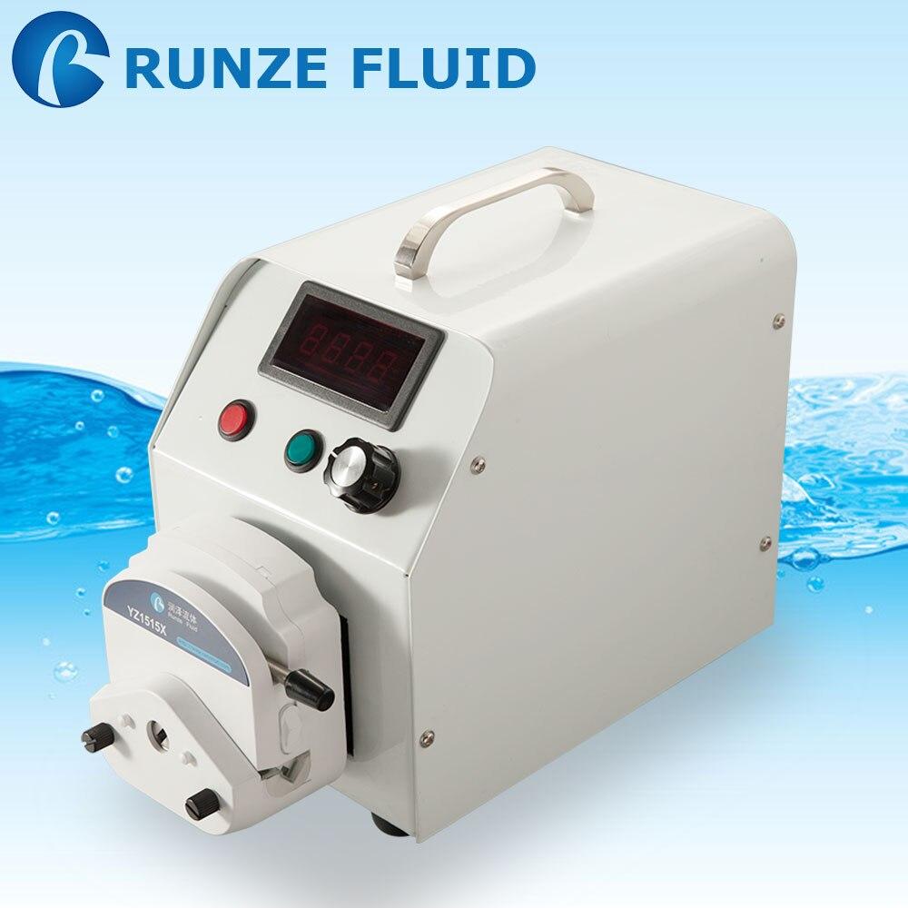 Speed-Adjustable Peristaltic Pump Laboratory Liquid Water Treatment Analysis