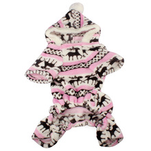 1PC dog coat New Stylish Pet Dog Warm Clothes Puppy Jumpsuit Hoodie Coat Doggy Apparel