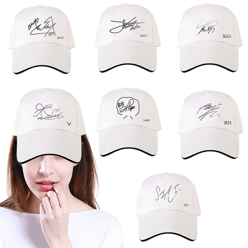 Men's Baseball Caps Mens Snapback Hats Bts Monsta Twice Exo Print Fashion Cap Hats Adjustable Baseball Cap Bulletproof Young Age Group Hat Men's Hats