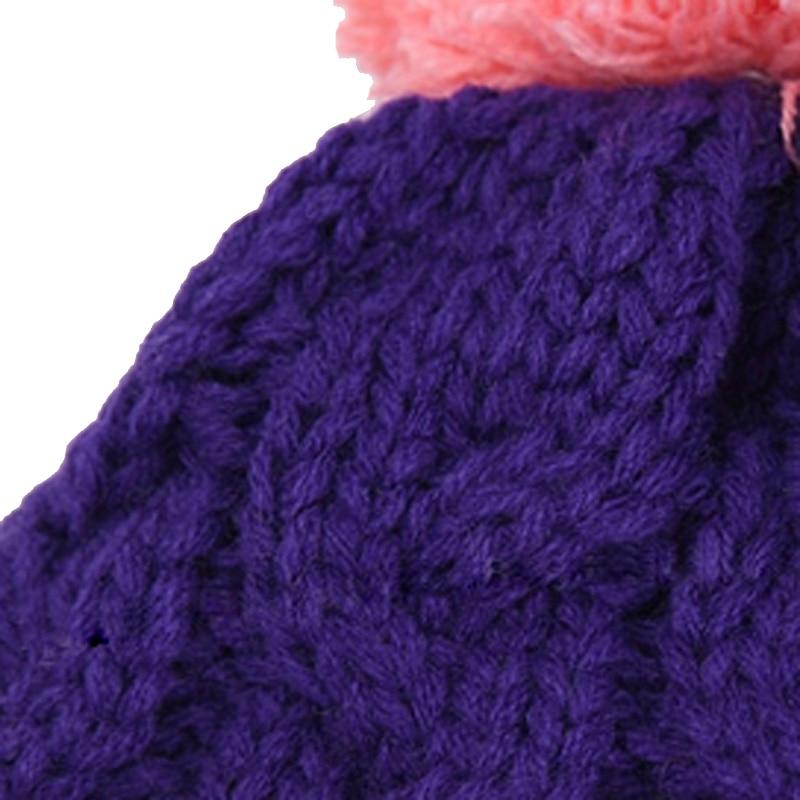 Chapéu do Inverno do bebê e Conjunto Cachecol Muito Quente Cap Gorro  Infantil para Crianças Meninos Meninas Animais Estilo Urso Crianças Crochet  Malha Xale ... f0b143b8b9c