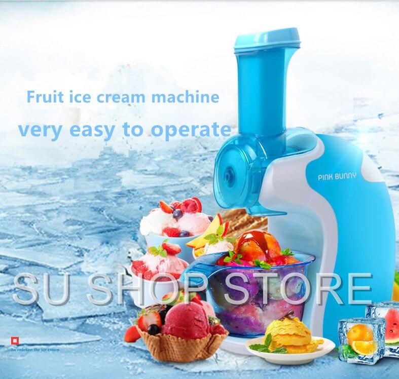 china fuxin home full automatic mini ice cream machine household intelligent ice cream maker free shipping ice cream machine automatic household ice
