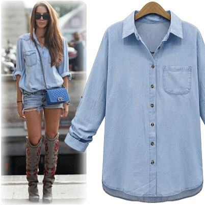 Online Get Cheap Denim Shirts Women -Aliexpress.com | Alibaba Group