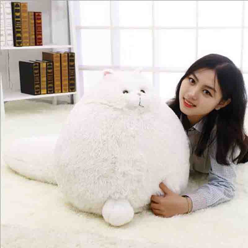 Cute Fat Cats Persian Cat Pet Toys Plush Toys Pillow Soft Plush Stuffed Animals Plush Dolls Simulation Kids Gifts