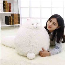 new plush toys  long tail is lovely fat cat of a birthday gift