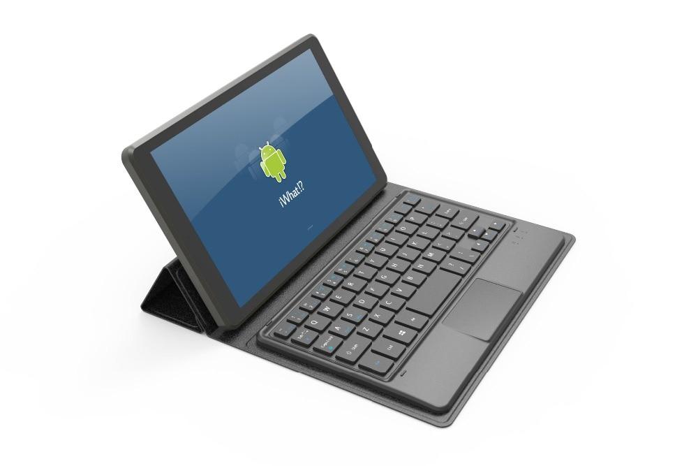 Touch Panel Bluetooth Keyboard Case үшін Huawei Honor T1-821W / - Планшеттік керек-жарақтар - фото 4