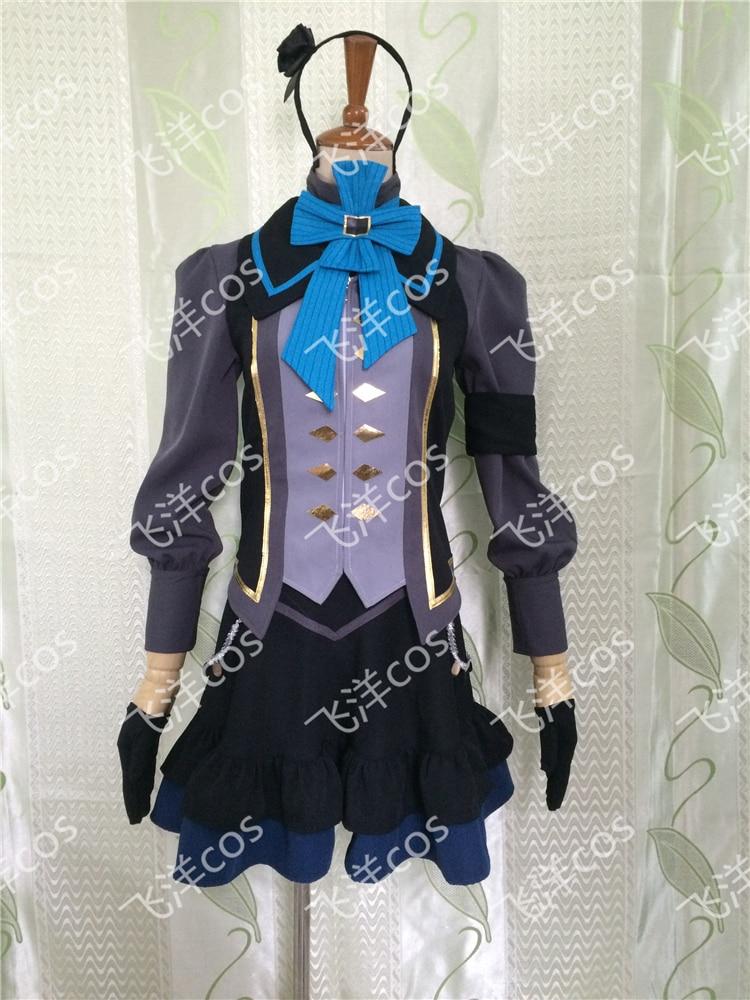 FREE shipping font b Anime b font unlight Veronica font b Cosplay b font Costume for