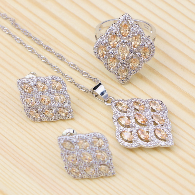 Jewelry Sets 925 Sterling...