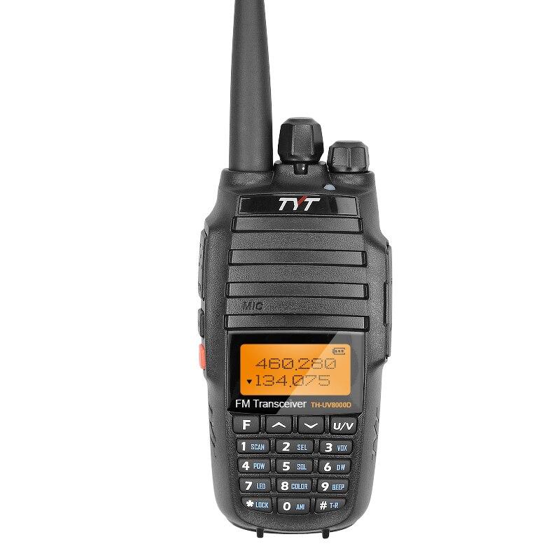 2018 Version 1809A Mise À Niveau Version Puissant Longue Portée 10 w Croix Bande VHF UHF TYT TH-UV8000D Amateur Émetteur-Récepteur Radio